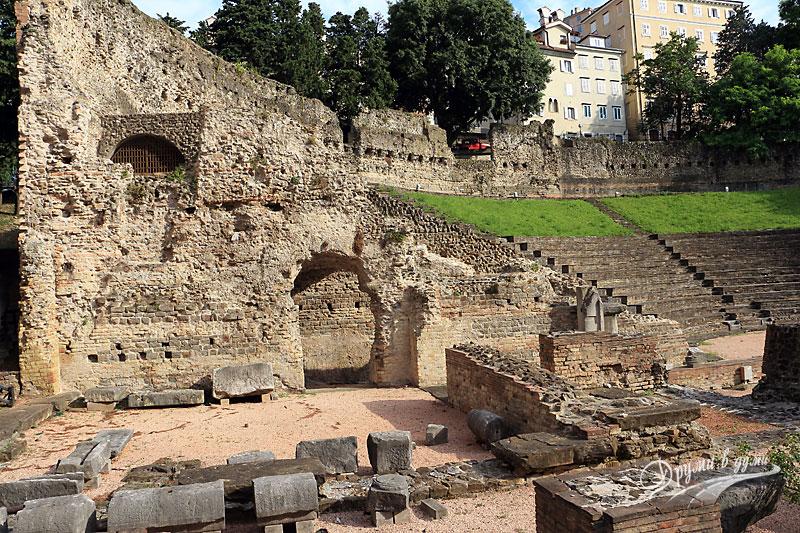 Триест: Римският амфитеатър