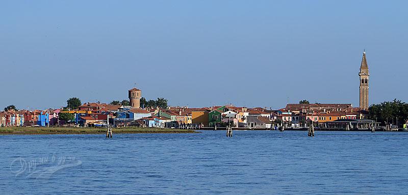 Покрай остров Бурано