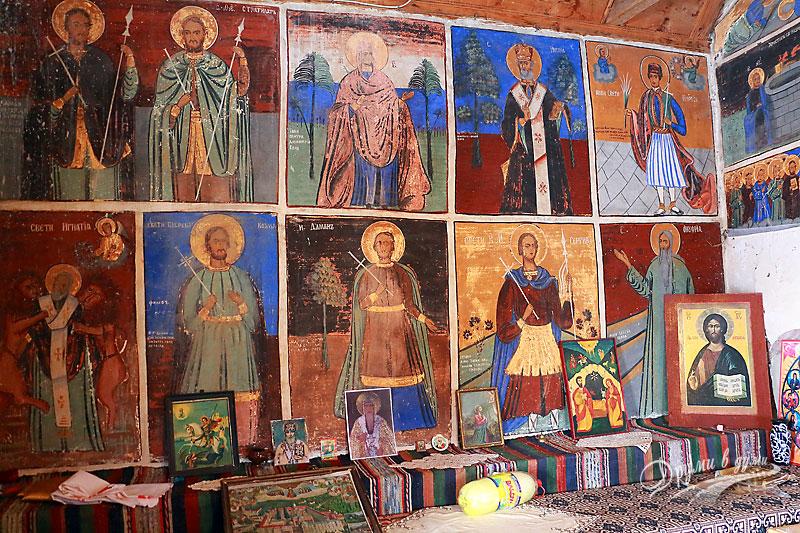 Кладнишки манастир: стенописи