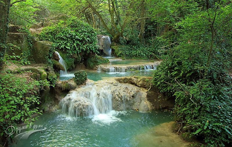 Крушунски водопади: красота и дъх на свежест