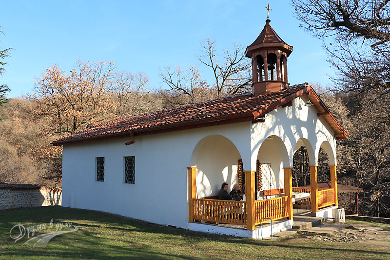 Monastery St. Athanasius: the church
