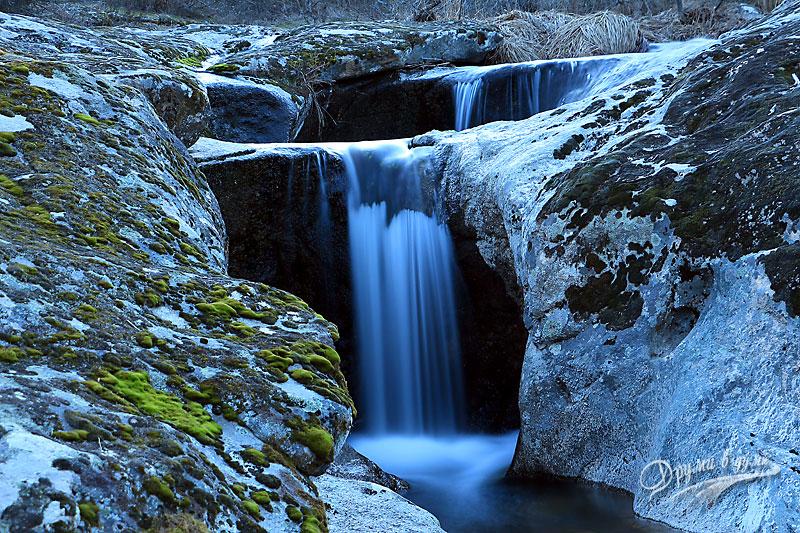 Водопад Казанките отблизо