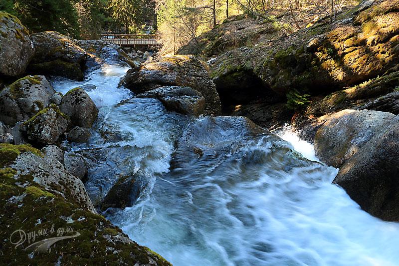 Бистришки водопад: поглед отгоре