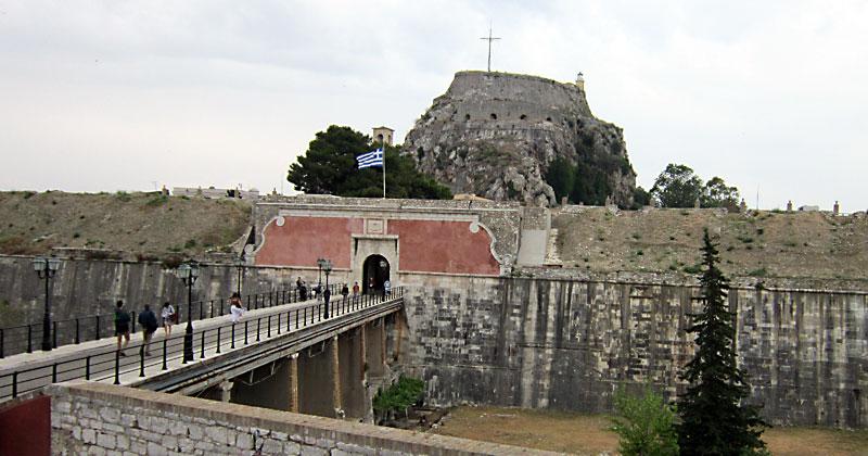 Остров Корфу: Венецианската крепост