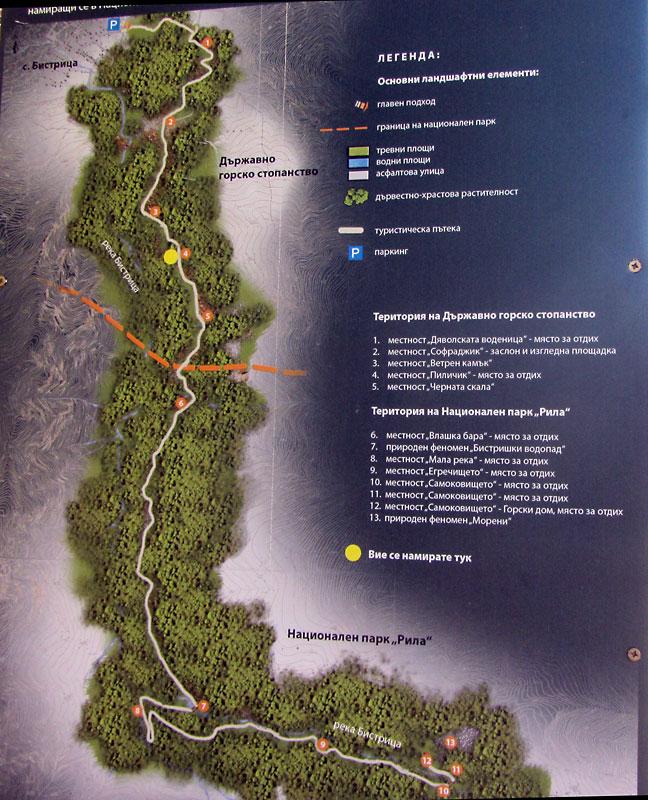Информация за маршрута