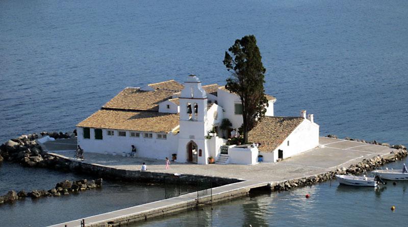 Остров Корфу: манастир Св. Богородица Влахернска