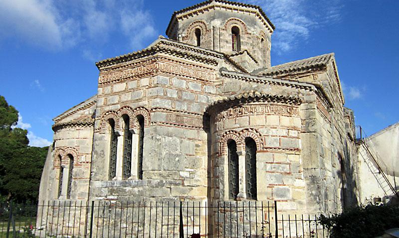 Остров Корфу: църквата Свети апостоли Иасон и Сосипатър