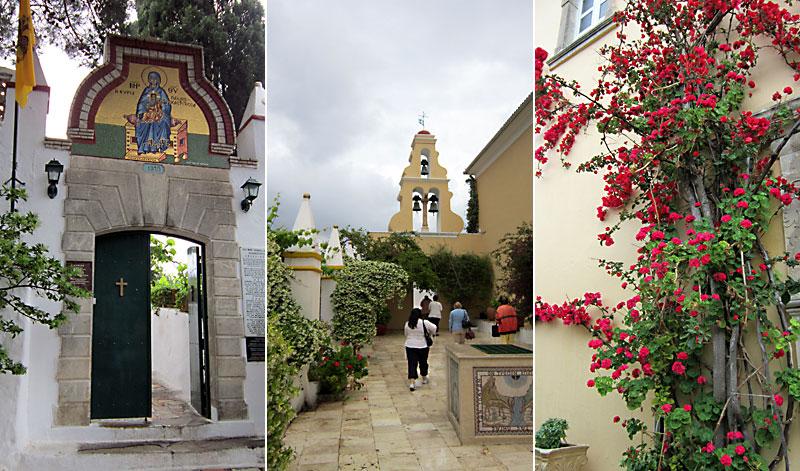 Остров Корфу: манастир Света Богородица Палеокастриса
