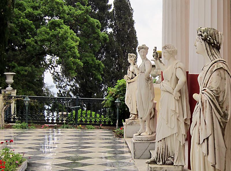 Остров Корфу: имението на Елизабет Баварска - Сисси