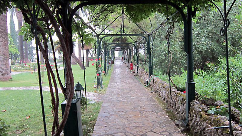 Остров Корфу: домът на печалната императрица