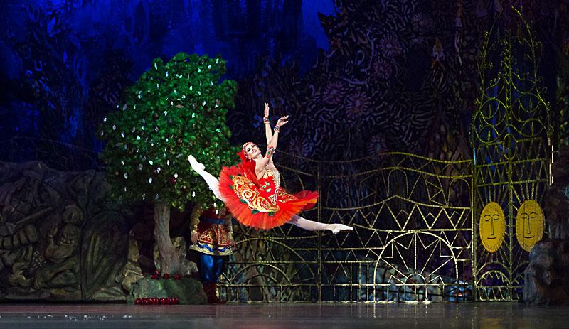 Балетът Жар птица. Снимка: Софийска опера и балет