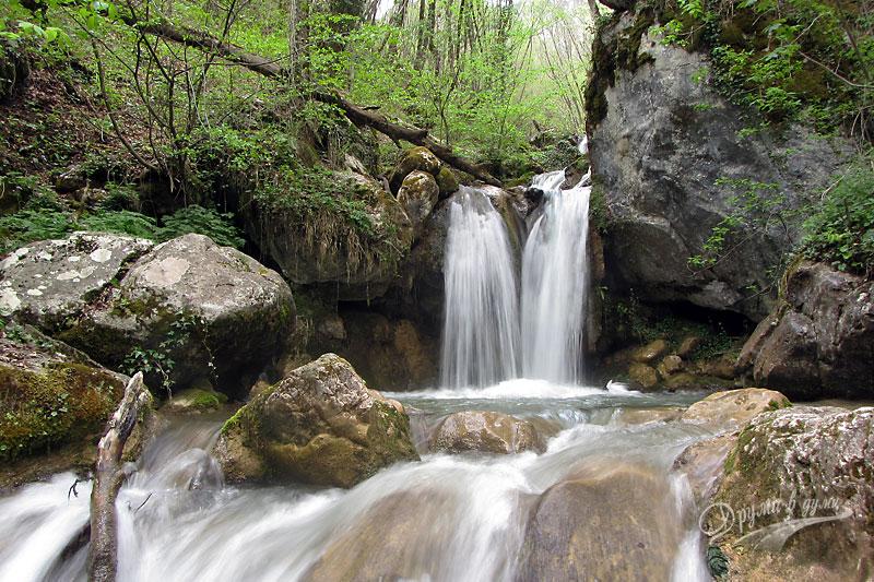 Красотата на водопада