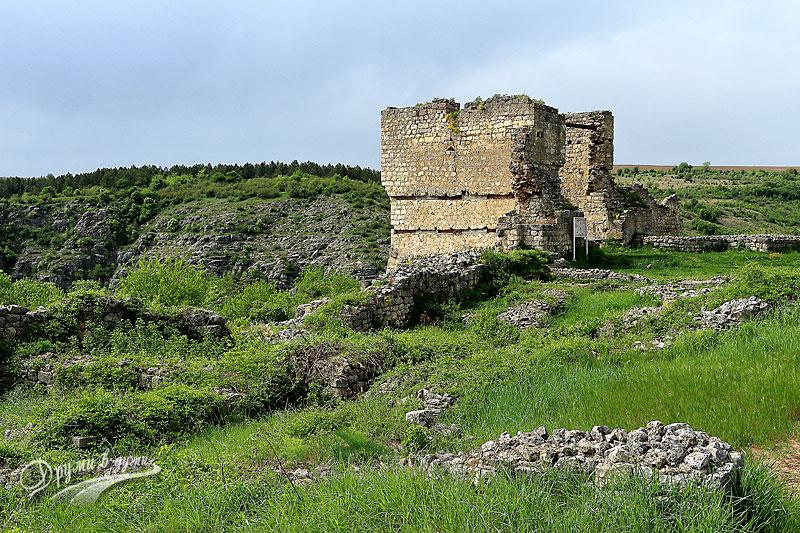 Крепост Червен: голямата бойна кула