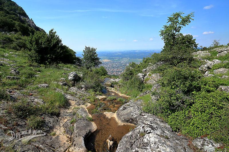 Горната част на водопад Скакля
