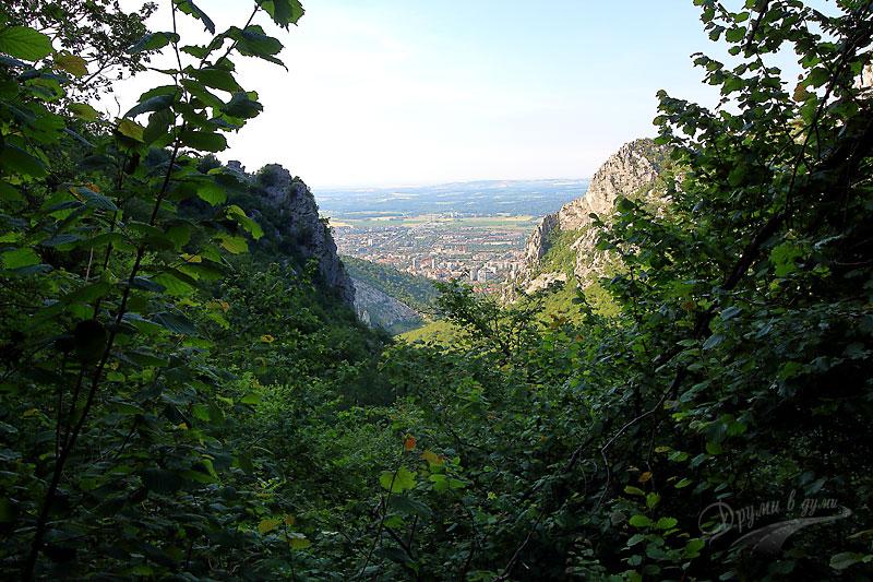 Водопад Скакля: поглед към Враца