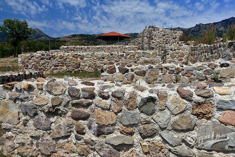 Крепостта Туида в Сливен
