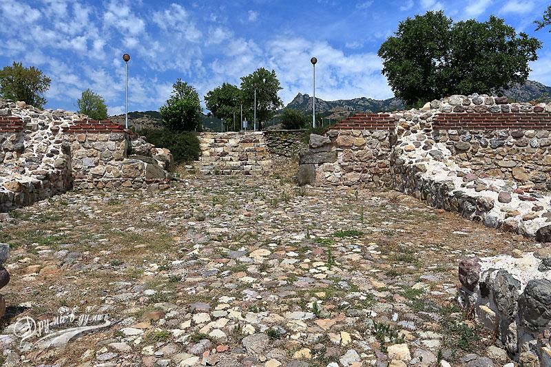 Крепост Туида: южна порта