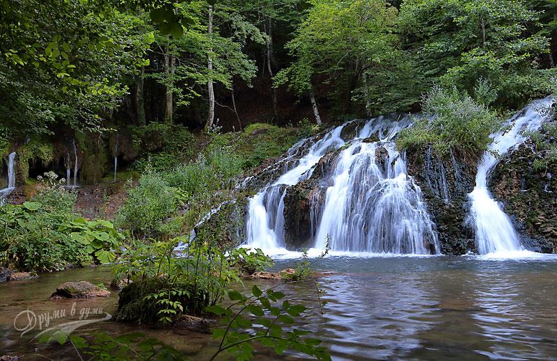 Водопад Докузак