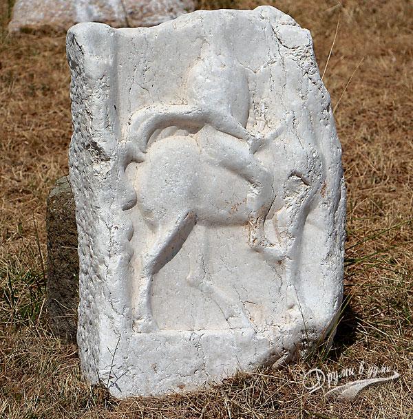 Крепост Туида: оброчна плочка на тракийски конник
