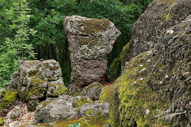 Тракийско светилище Камъка: първата скала като гъба