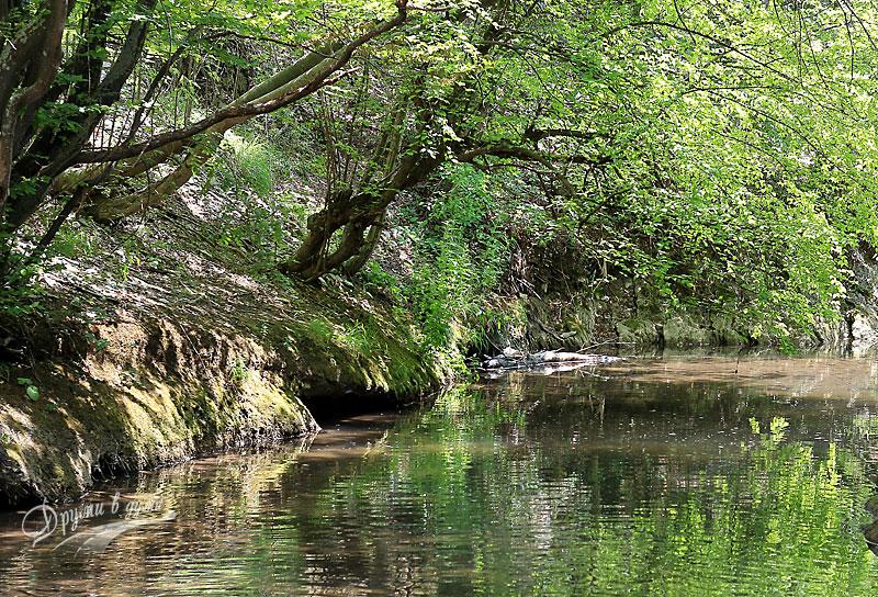 Обратно по река Медвенска