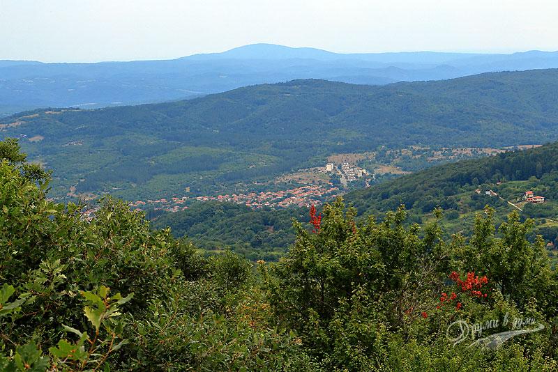 Golyamo Gradishte peak: view