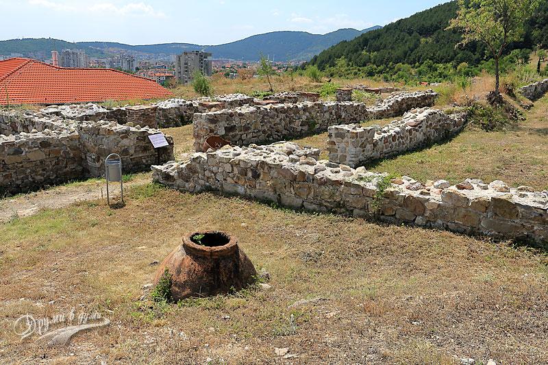 Крепост Туида: казармени помещения