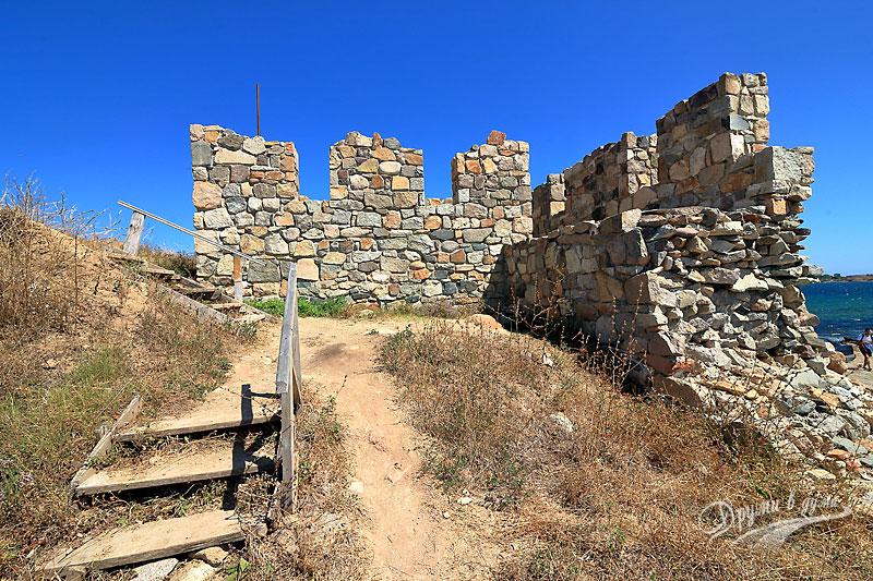 Крепост Акра: кулата