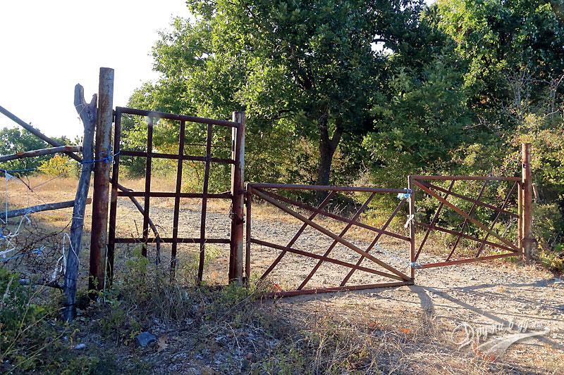 Към долмена: портата