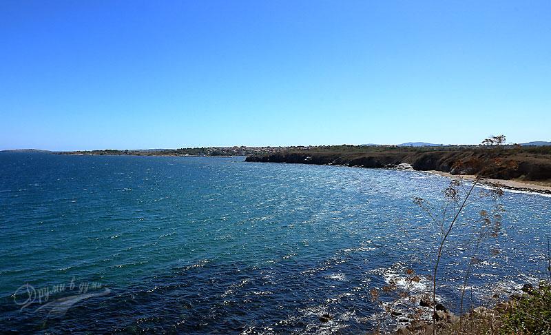 Крепост Акра: поглед към Созопол