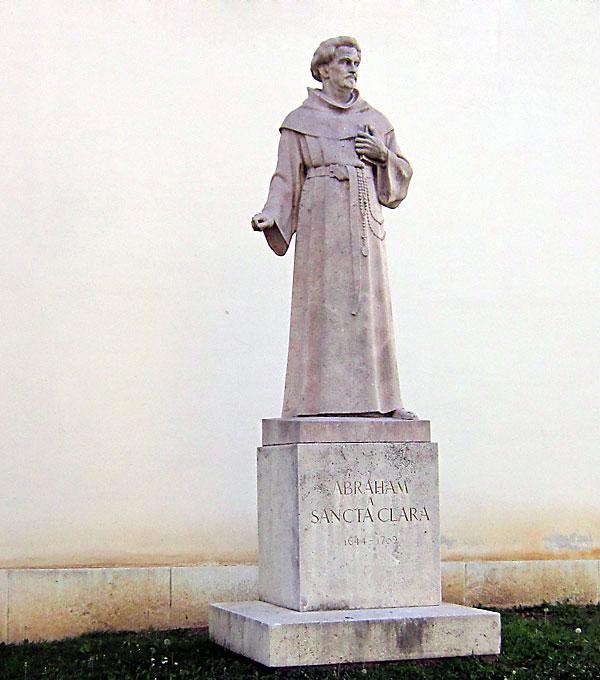 Статуята на Абрахам а Санта Клара