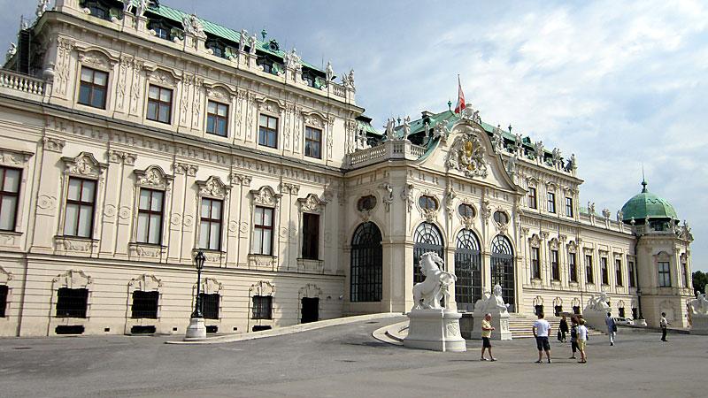 Виена: дворецът Белведере