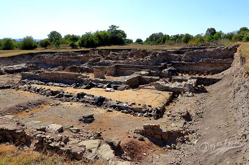 Деултум: разкопките