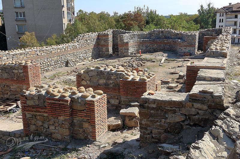 Крепостта Кастра ад Монтанезиум: базиликата