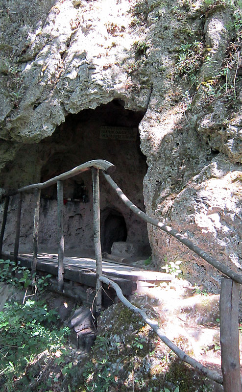 Пещерата на Св. Григорий Палама