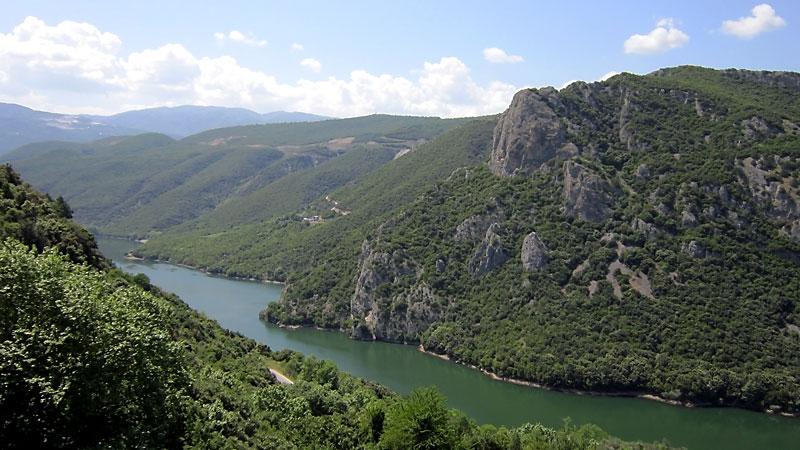 Река Алйякмон (Бистрица)