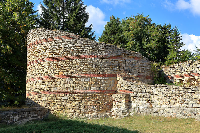 Крепост Кастра Мартис: югозападната кула