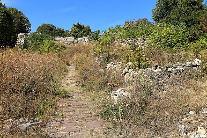 В крепостта Кастра ад Монтанезиум