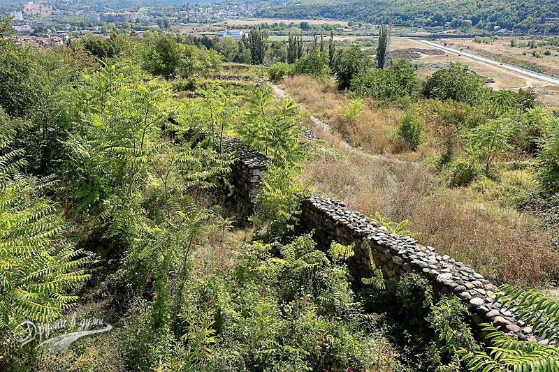 В крепостта Кастра ад Монтанезиум: поглед от кулата
