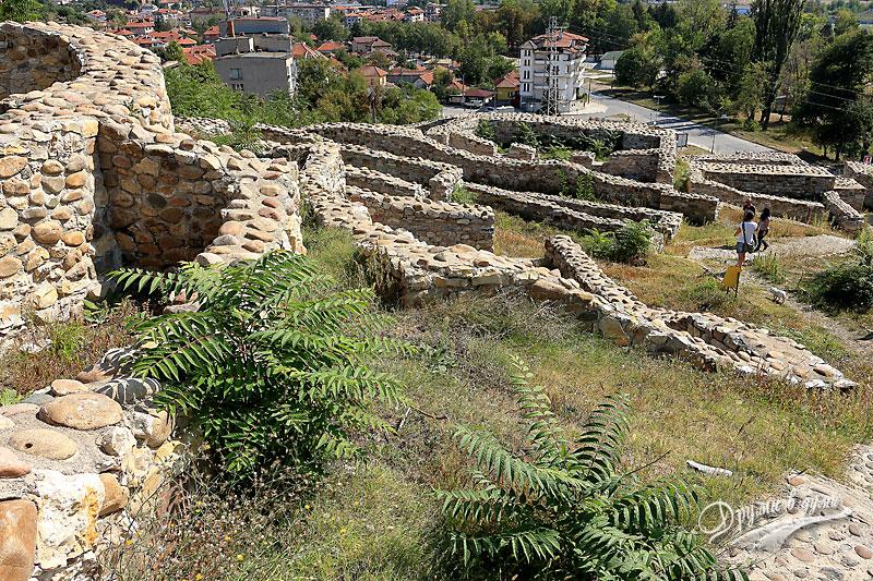 Крепостта Кастра ад Монтанезиум: поглед от кулата