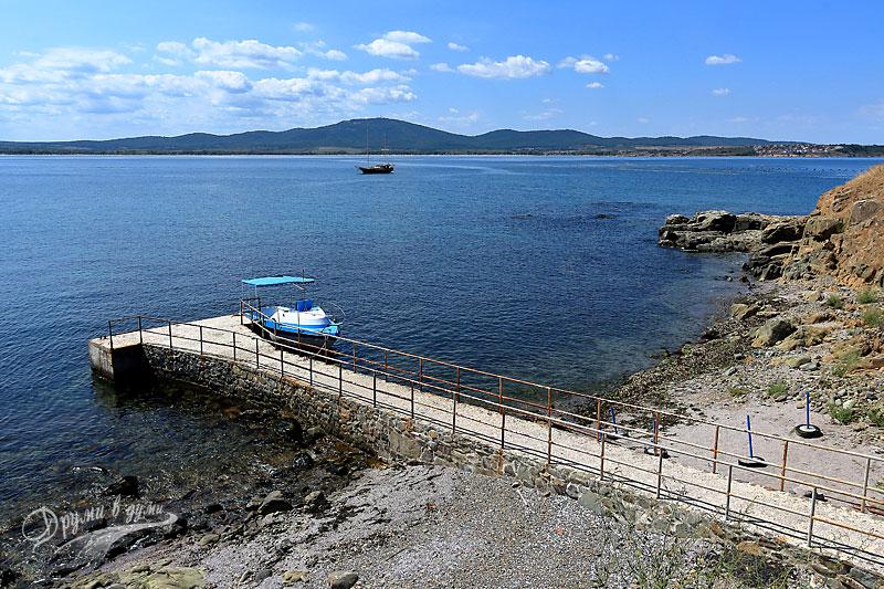 Остров Свети Иван: южен пристан