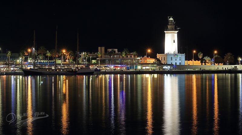 Малага: вечер край морето