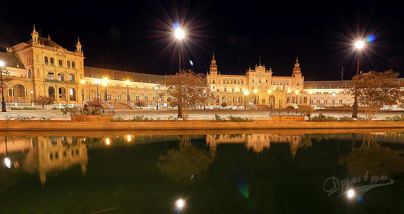 Севиля: площад Испания