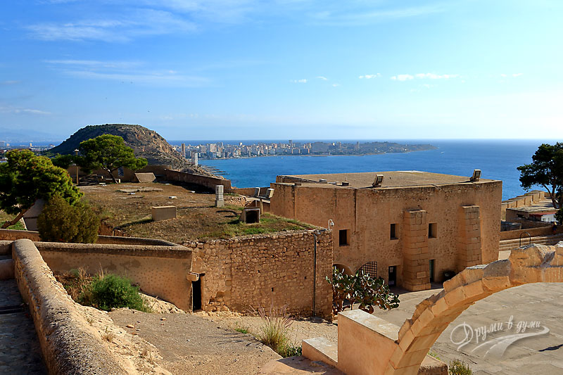 Аликанте: замъкът Санта Барбара
