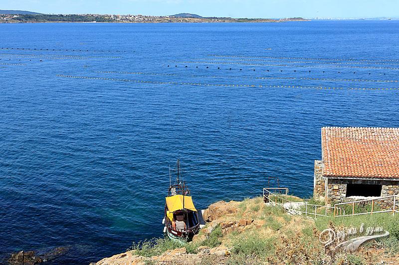 Остров Свети Иван: северен пристан
