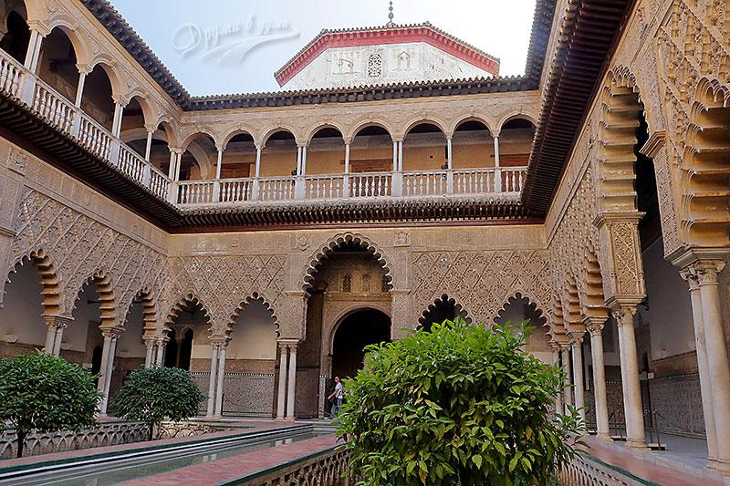 Севиля: дворецът Алказар