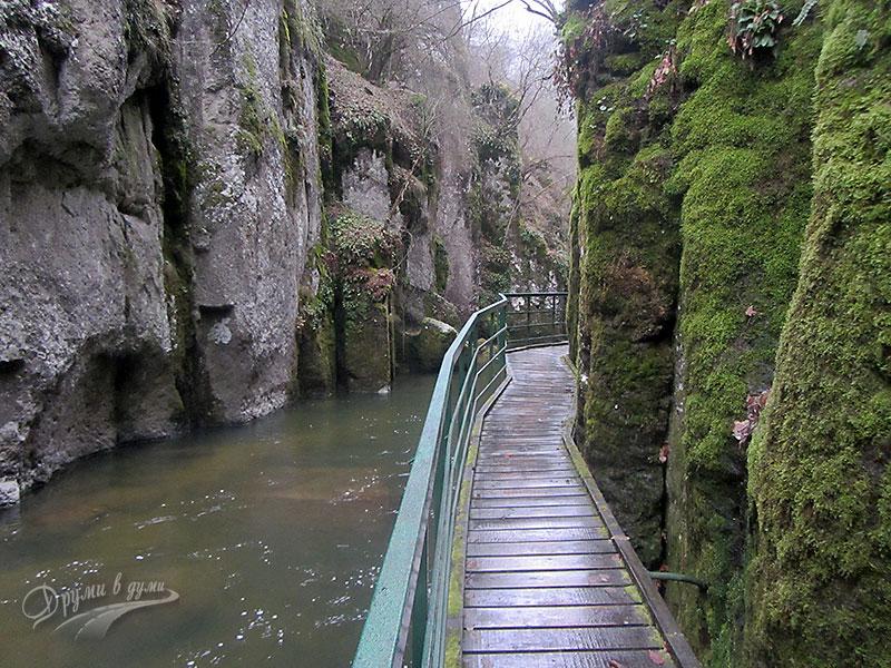 Екопътека Струилица: каньонът на река Девинска