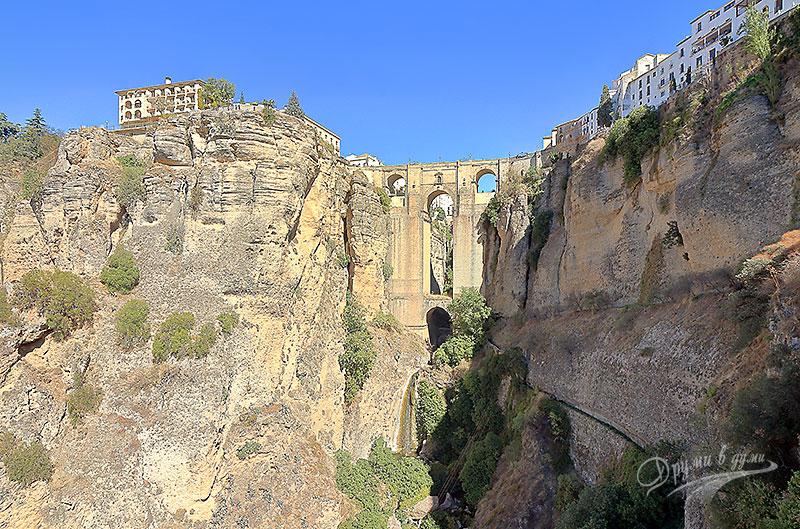 Ронда - Новият мост и каньона Тахо