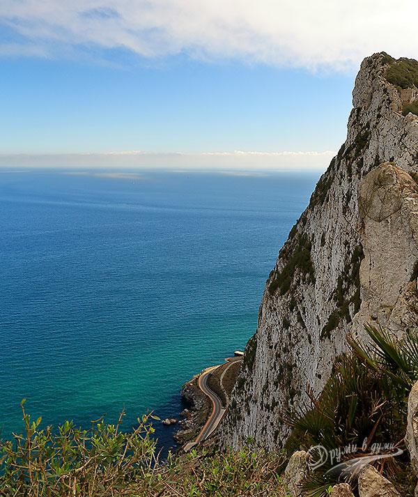 Гибралтар: гледки от високо