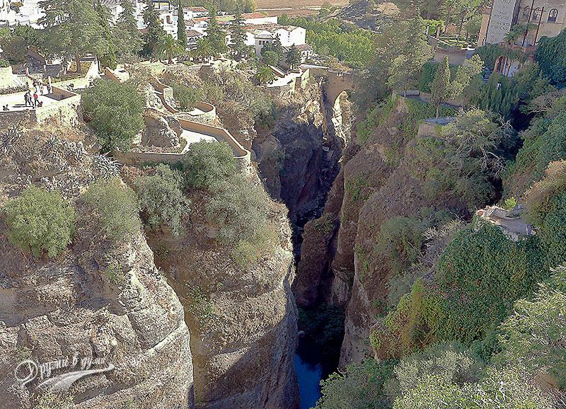 Ронда: Домът на мавританския владетел и градините